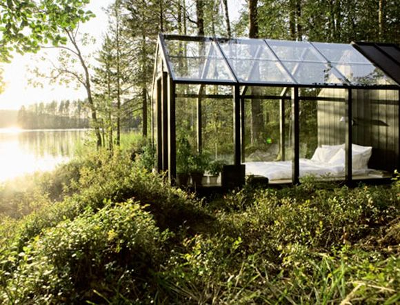 Garden Shed by Helsinki architect Ville Hara of Avanto Architects and designer Linda Bergroth