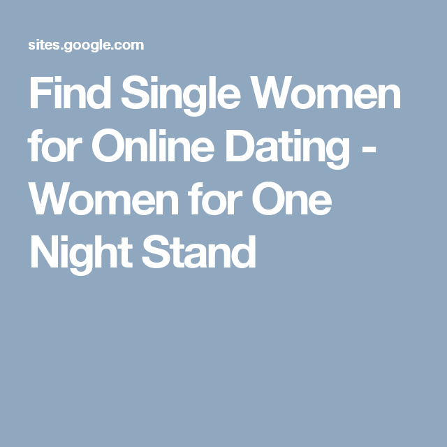 best site to meet one night stands