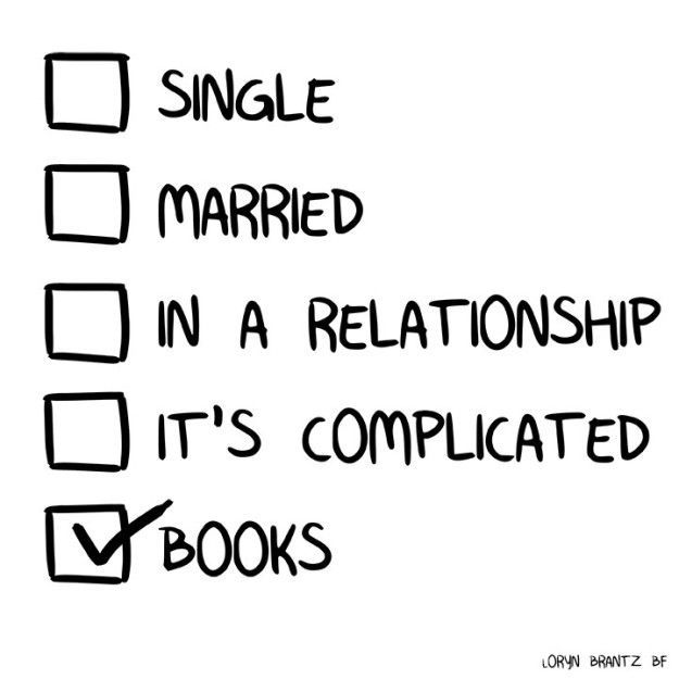 One day, you hope to be the disciplined, well-read, monogamous book lover you know can be.
