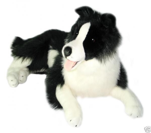 Border Collie Dog Soft Plush Toy New Very Large 62cm 28 Dog