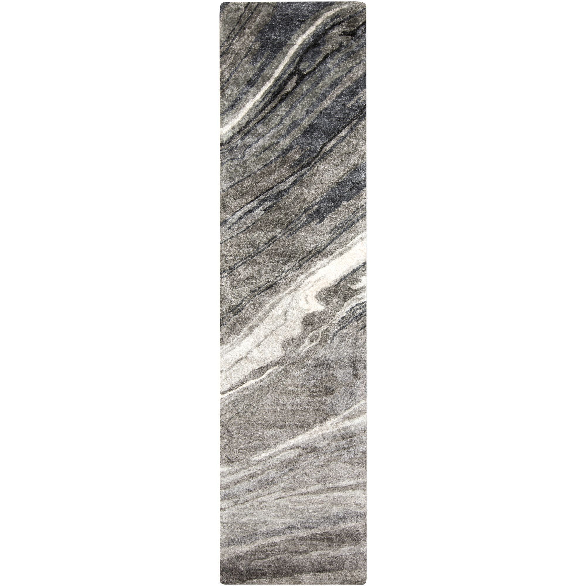 Gemini Hand-Tufted Gray Area Rug