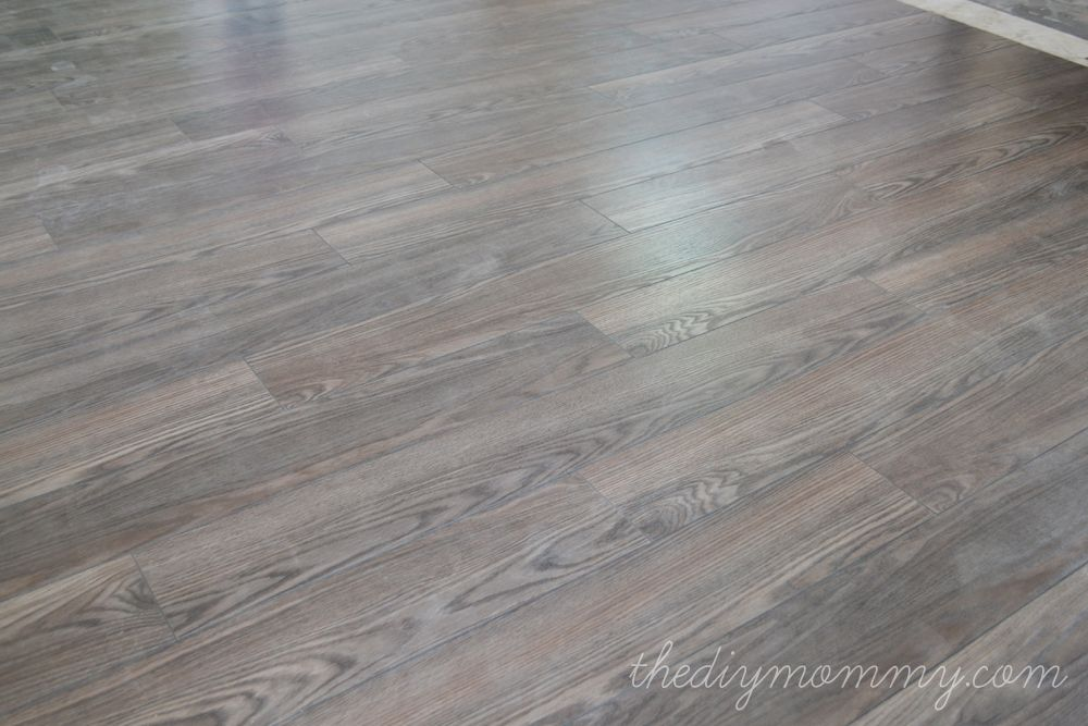Installing Laminate Flooring By The Diy Mommy Allen Roth