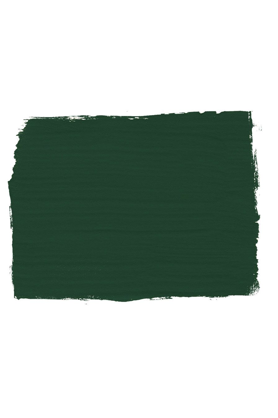 Annie Sloan Chalk Paint Swatch Colour In Amsterdam Green A Soft Deep Forest First Developed Her Signature Range Of Furniture