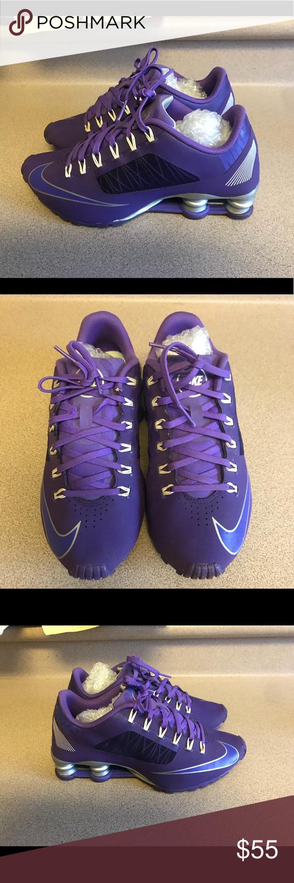 87deac69492c6e PreOwned Nike Women s 7 Shox Superfly R4 Purple PreOwned Nike Women s 7 Shox  Superfly R4 Purple