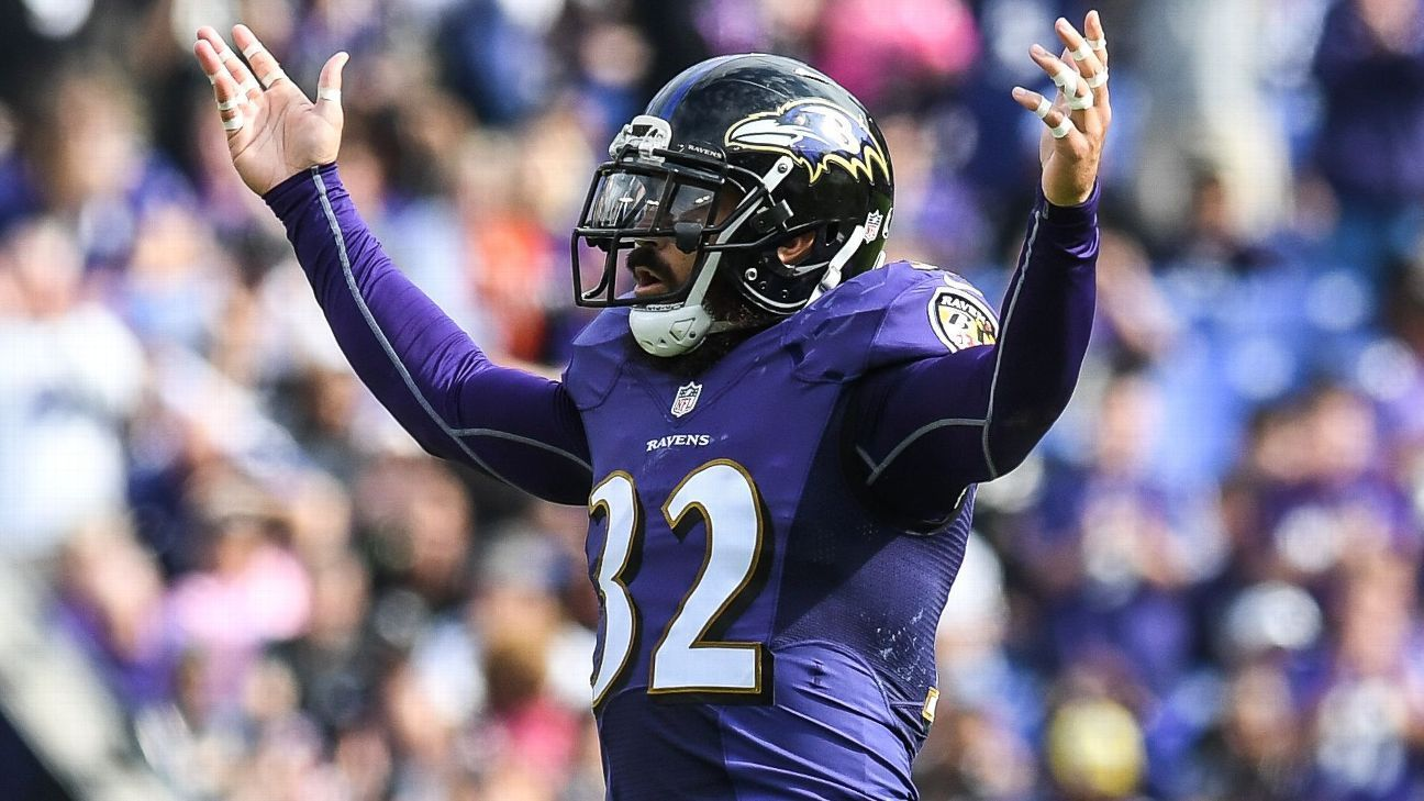 Eric Weddle This will be the strongest most in shape Ravens team