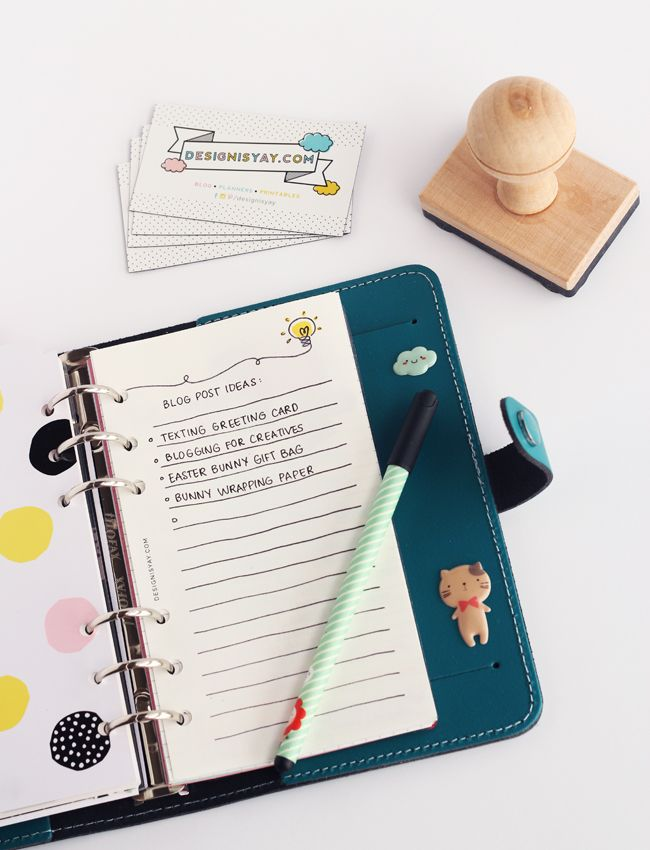 Print n' Plan: Bright Ideas Notepaper | DESIGN IS YAY