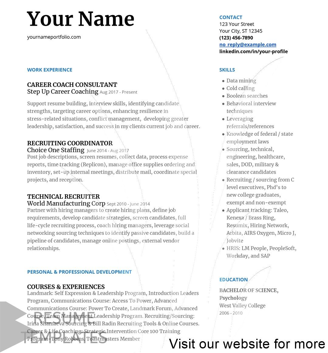 resume builder free best Free in 2020 Resume cover