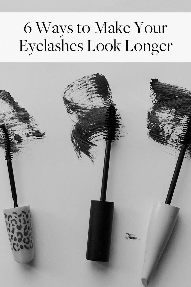 aaef890c00f How to make your eyelashes look longer without using 15 coats of mascara.