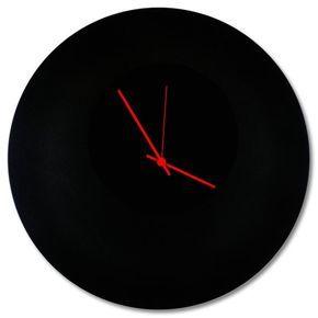 Blackout Circle Clock Contemporary Metal Wall Clocks Etsy In 2020 Wall Clock Modern Wall Clock Black Wall Decor
