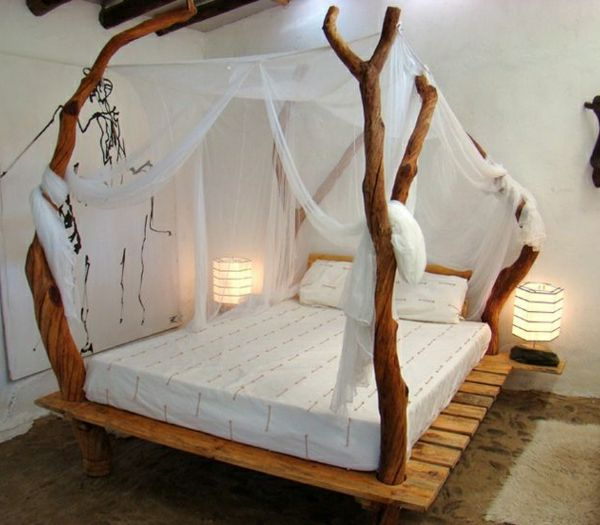 Möbel Aus ästen Selber Bauen 35 fantastische ideen für bett aus paletten nachttischlen