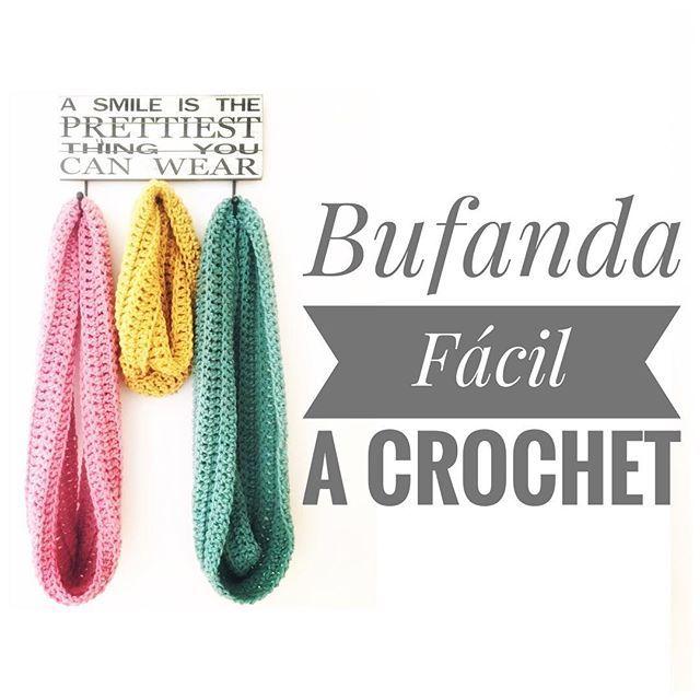 Pin de Paulina Delgado en bufandas cuellos chales crochet ...