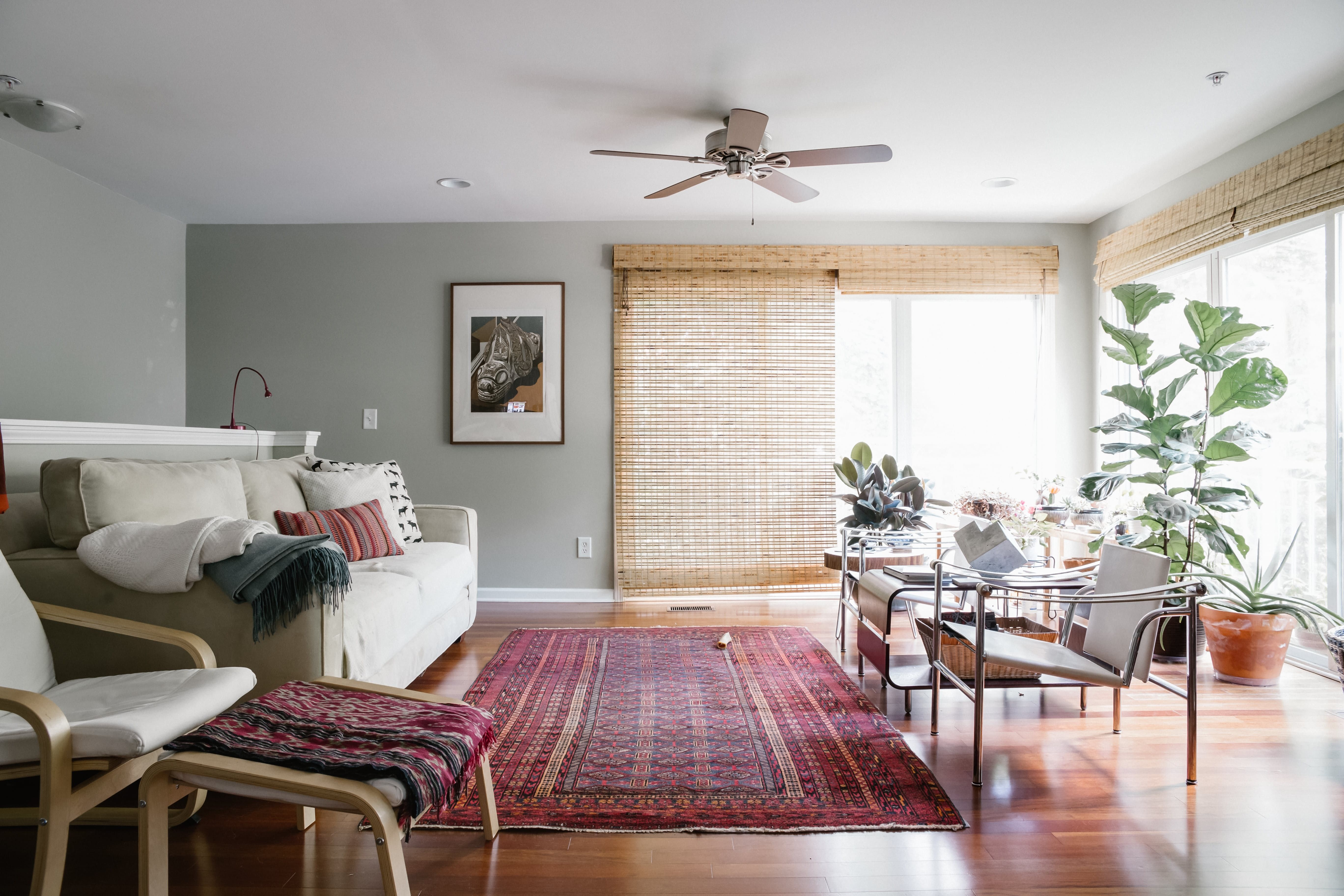 the secret minimalists' organic modern home  home