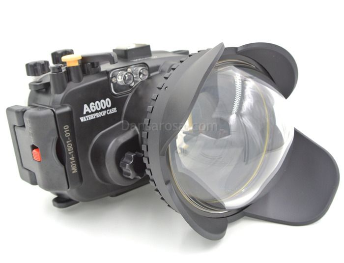 40m Meikon Sony A6000 Underwater Housing Waterproof Case