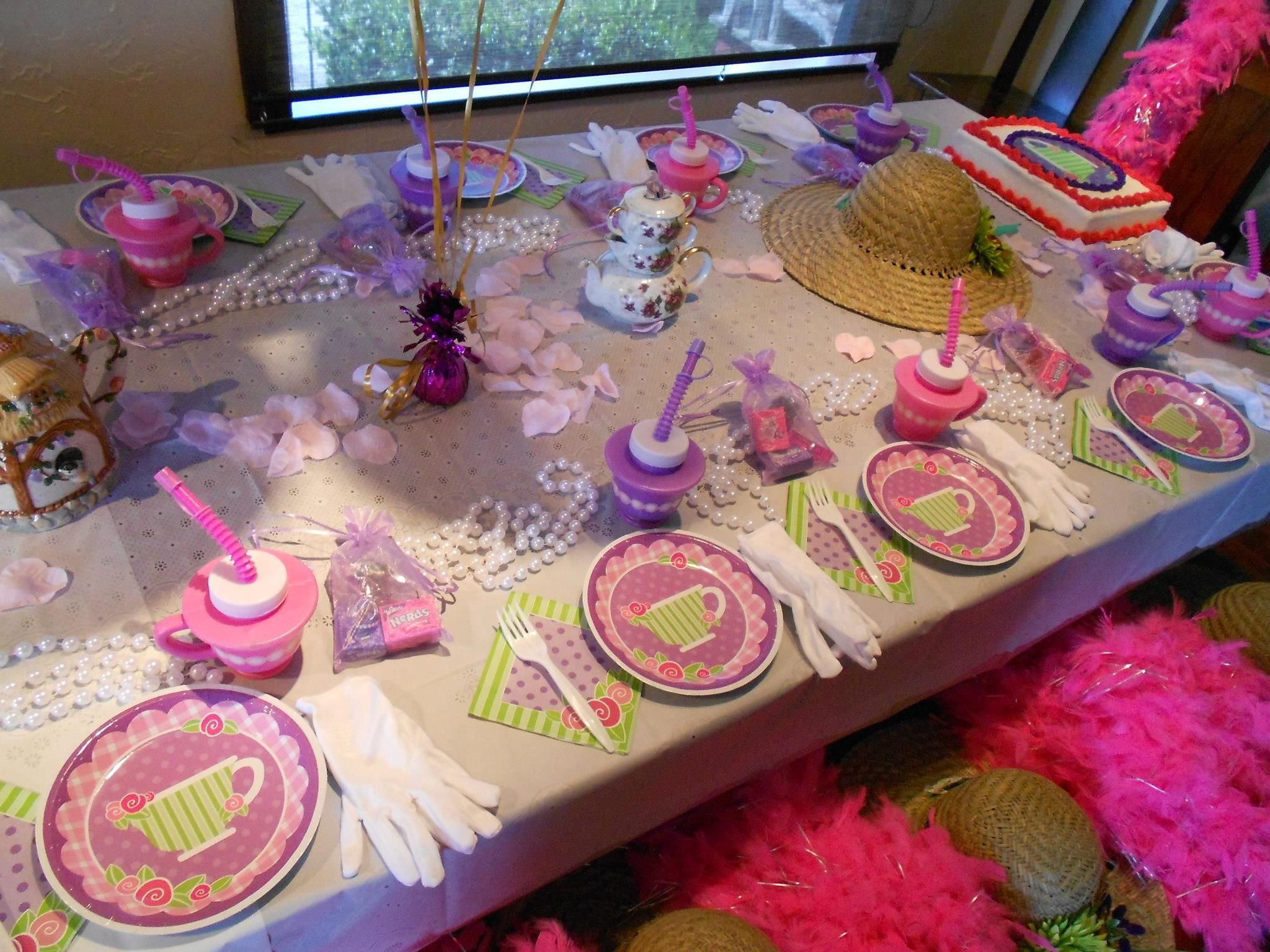 2 Year Birthday Ideas Ultimate Themed Dress Up Tea Party Little Girls Birthday Party