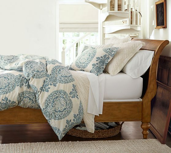 Lucianna Medallion Percale Duvet Cover Amp Shams Bedroom