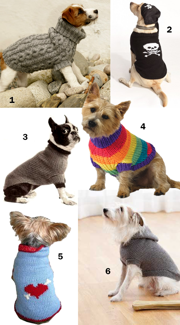 Dog Coat Knitting Pattern : Free and easy knitting patterns for dog sweaters