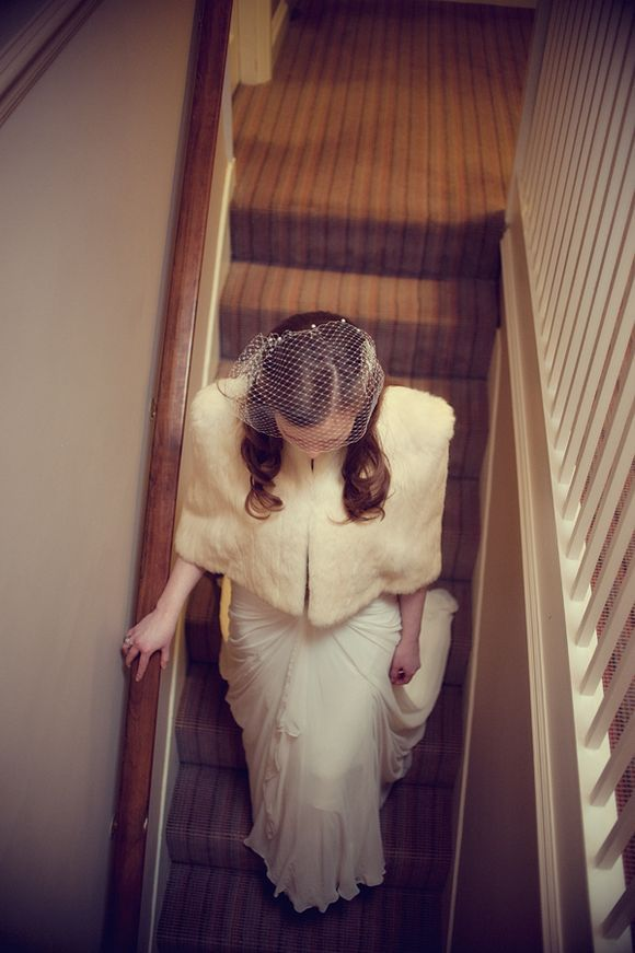 Old School Hollywood Glamour - An Intimate, Vintage Inspired Wedding in Oxford...