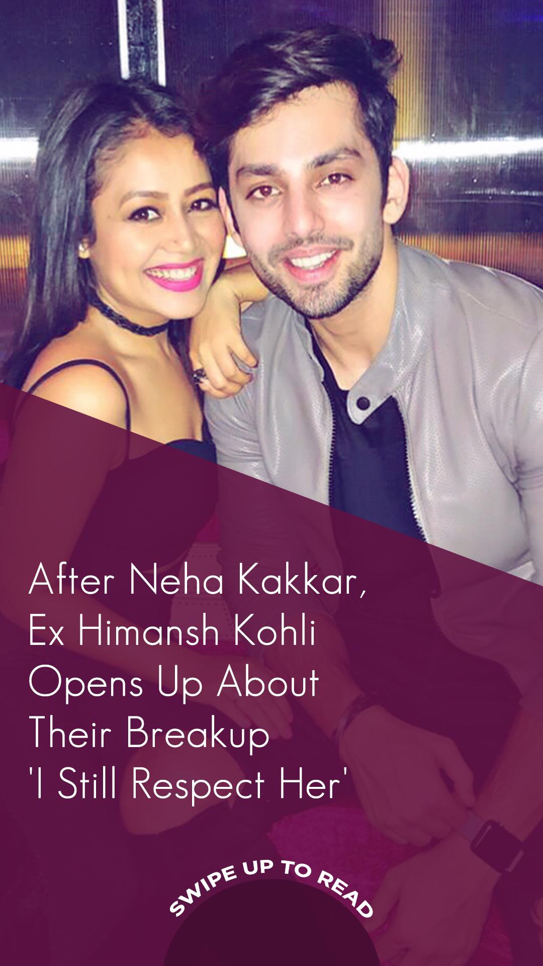 Himansh Kohli opens up on break up with Neha Kakkar. The