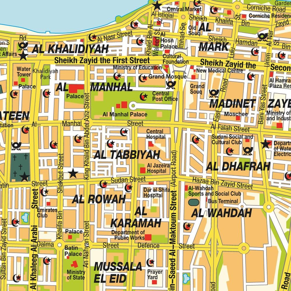 abu dhabi map | Middle Eastern Travels | Abu dhabi, Ras al khaimah ...