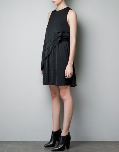 Frilled Dress Zara Dresses Frill Dress Fancy Dresses