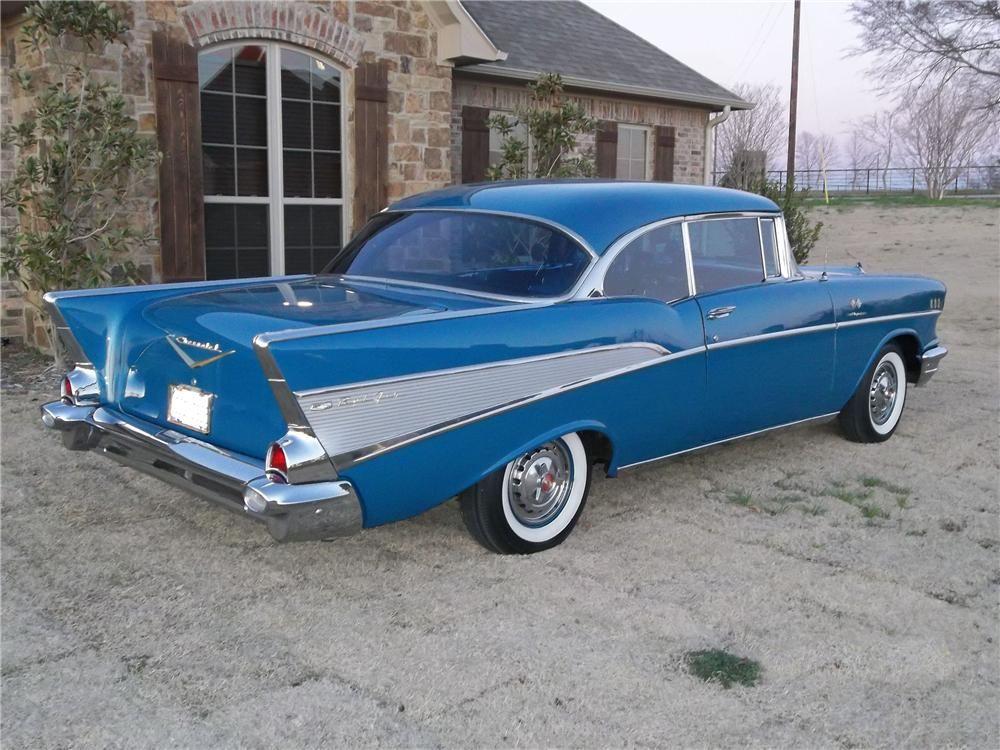 1957 CHEVROLET BEL AIR 2 DOOR HARDTOP – Barrett-Jackson Auction Company – World's Greatest Collector Car Auctions