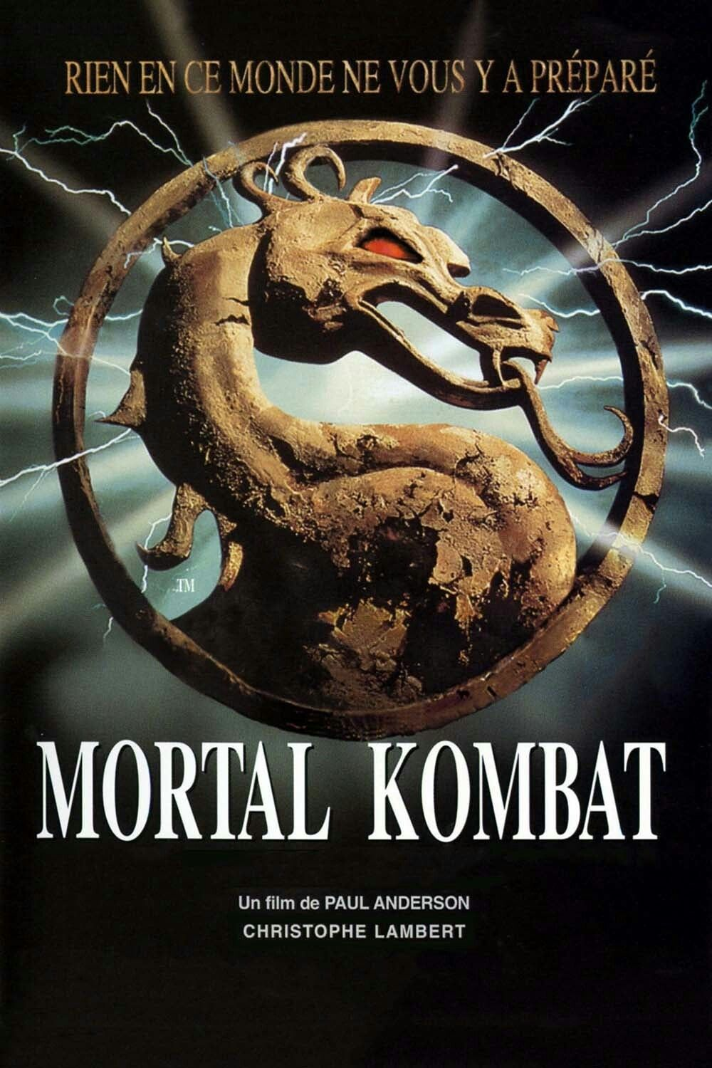 Mortal Kombat Movie Poster Fantastic Movie Posters Scifi Movie