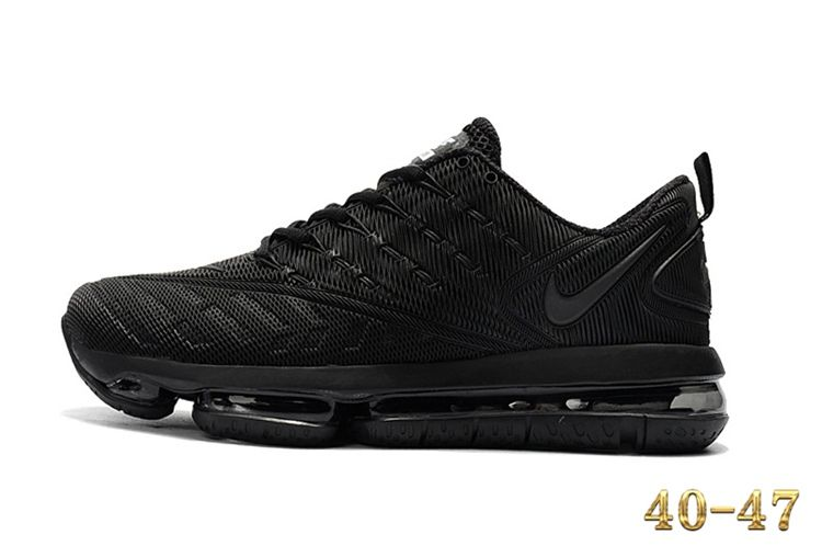 new arrival e19eb 42ce6 Nike 2019 KPU AIR MAX Sports Shoes Men All Black 40-47