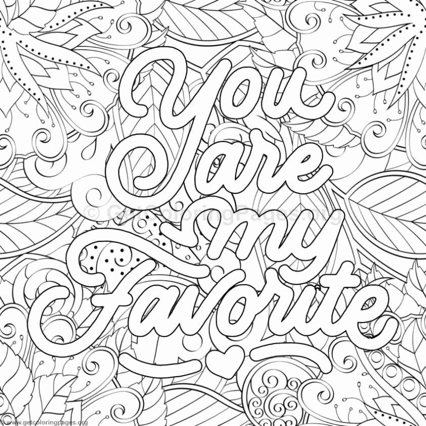 Word Coloring Pages for Adults in 2020   Quote coloring ...