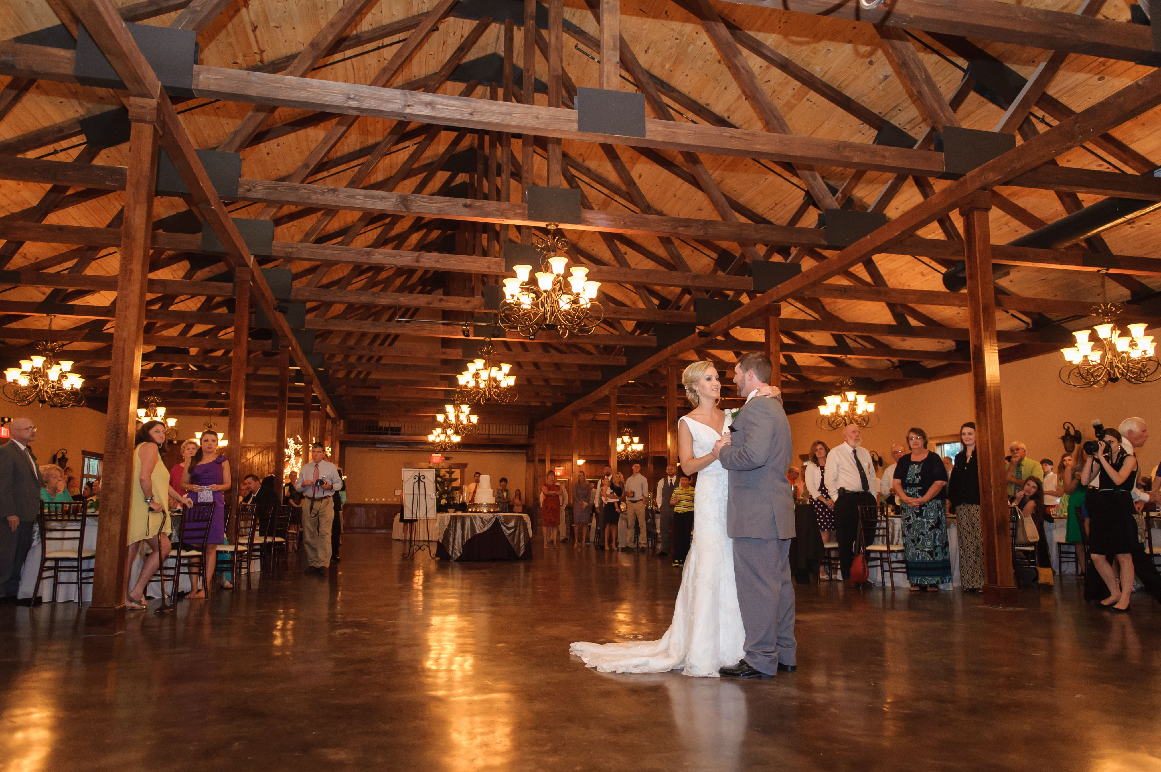 Stone Bridge Farms Wedding Reception First Dance Bride And Groom