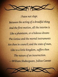 ~Julius Caesar, William Shakespeare