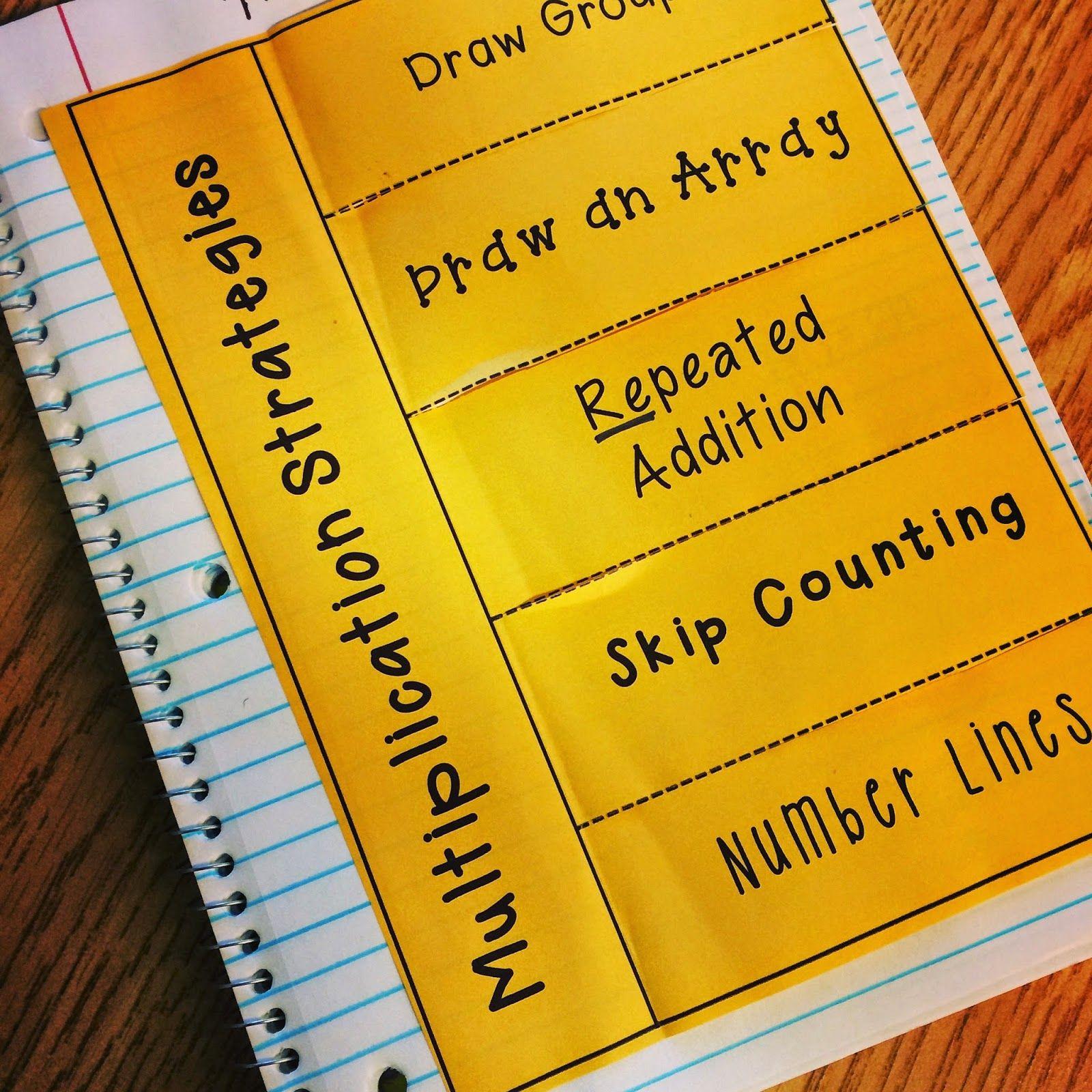 multiplication strategy poster math elementary math homeschool math math. Black Bedroom Furniture Sets. Home Design Ideas