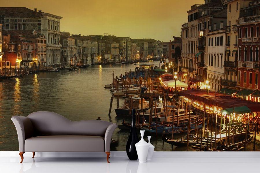 Venice Grand Canal Mural