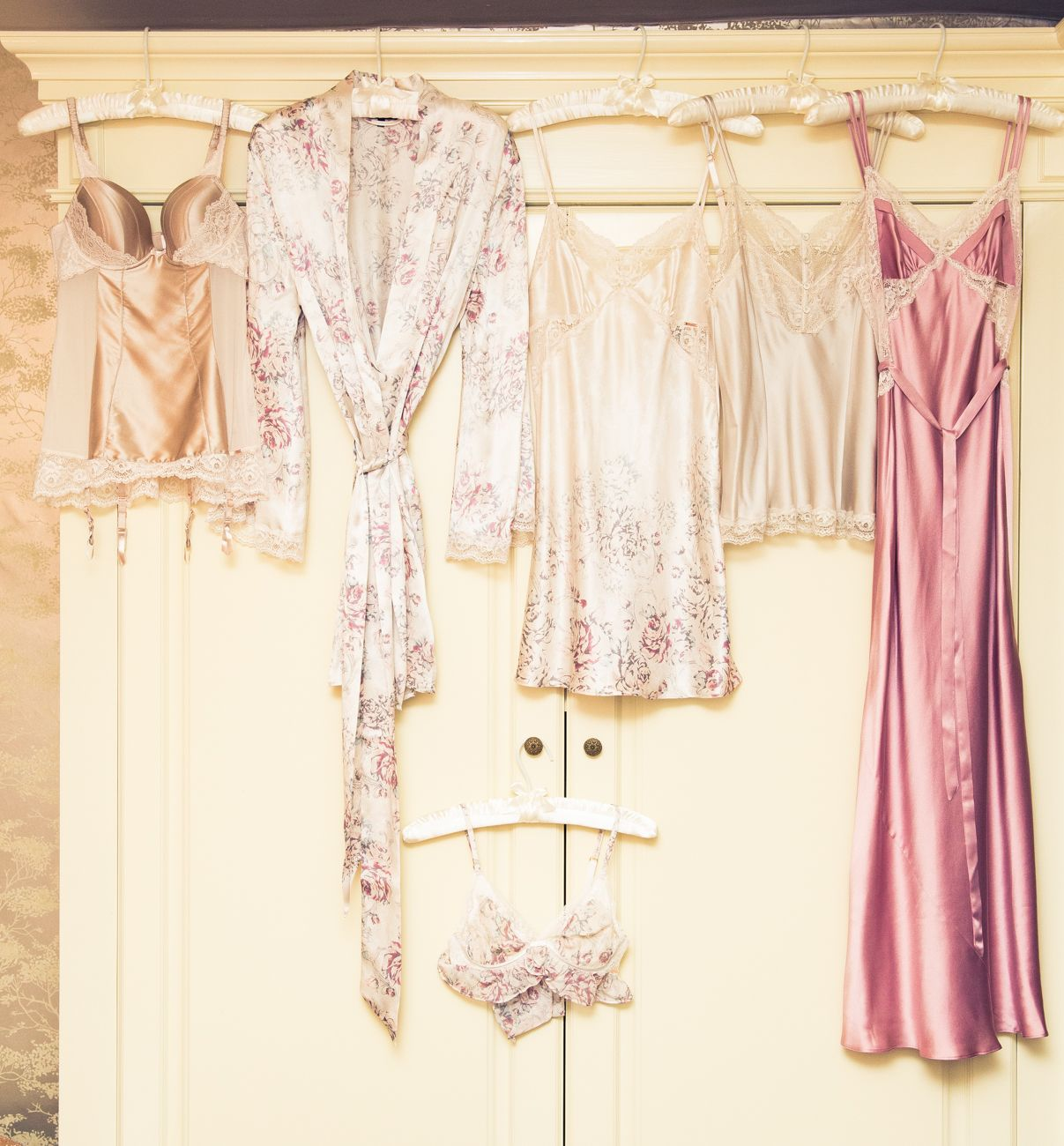 satin & lace | via The Coveteur