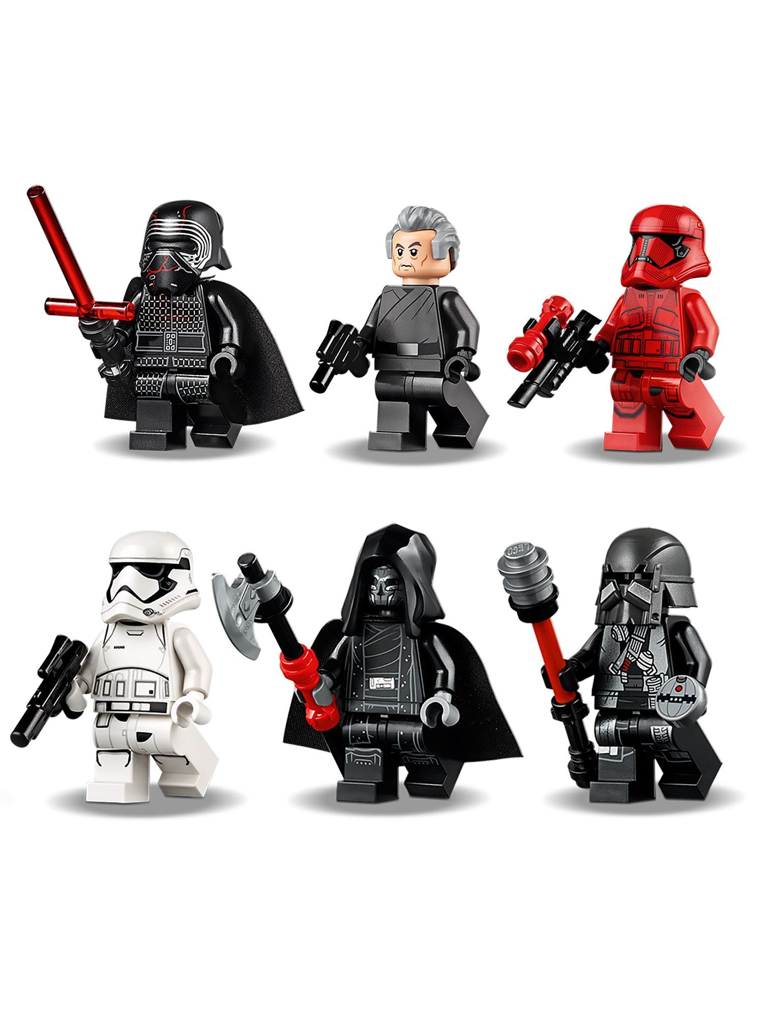 Lego Star Wars 75256 Kylo Ren S Shuttle In 2020 Lego Star Wars Lego Star Star Wars Minifigures
