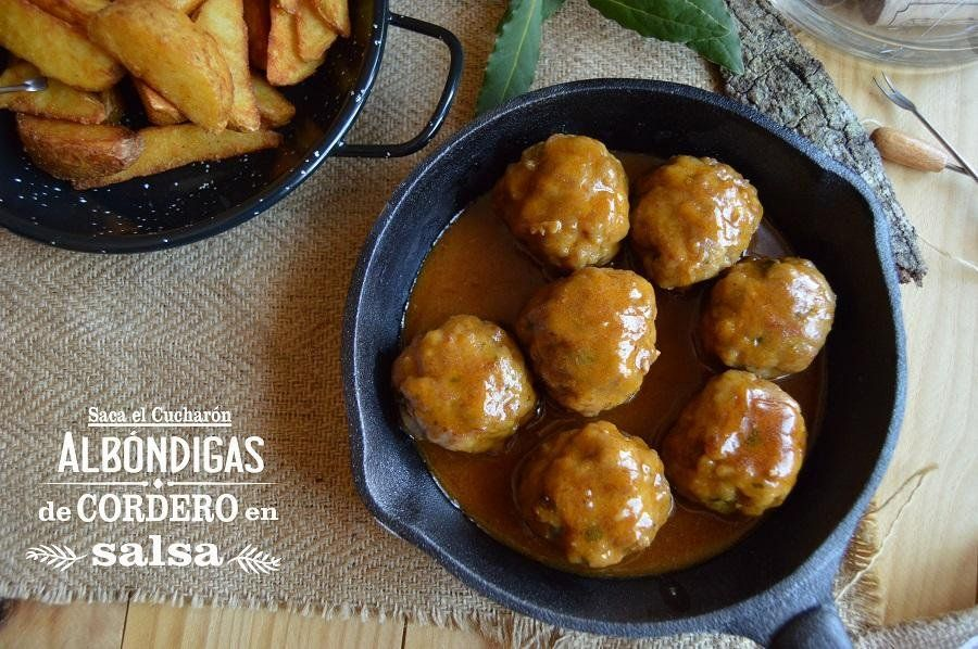 Lamb meatballs in sauce   Albóndigas de cordero en salsa   Cocina