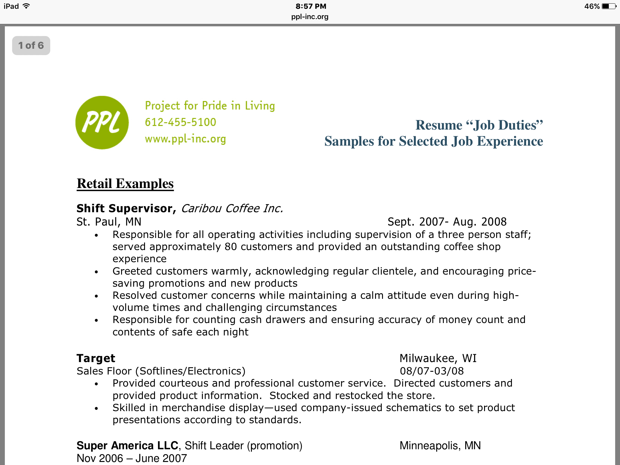 Resume Examples That Show Common Mistakes How Many Can You Find