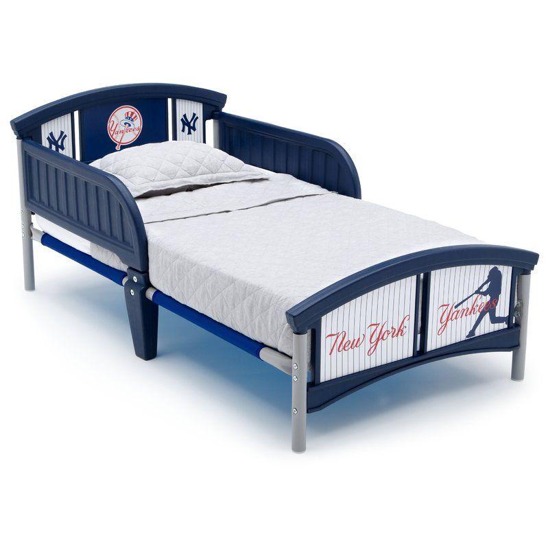 MLB New York Yankees Bed | Convertible toddler bed ...