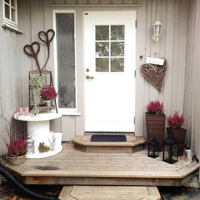 Hauseingang Deko Lavoixpeuhle Dekoration Eingangsbereich ... #hausdekoeingangsbereichaussen