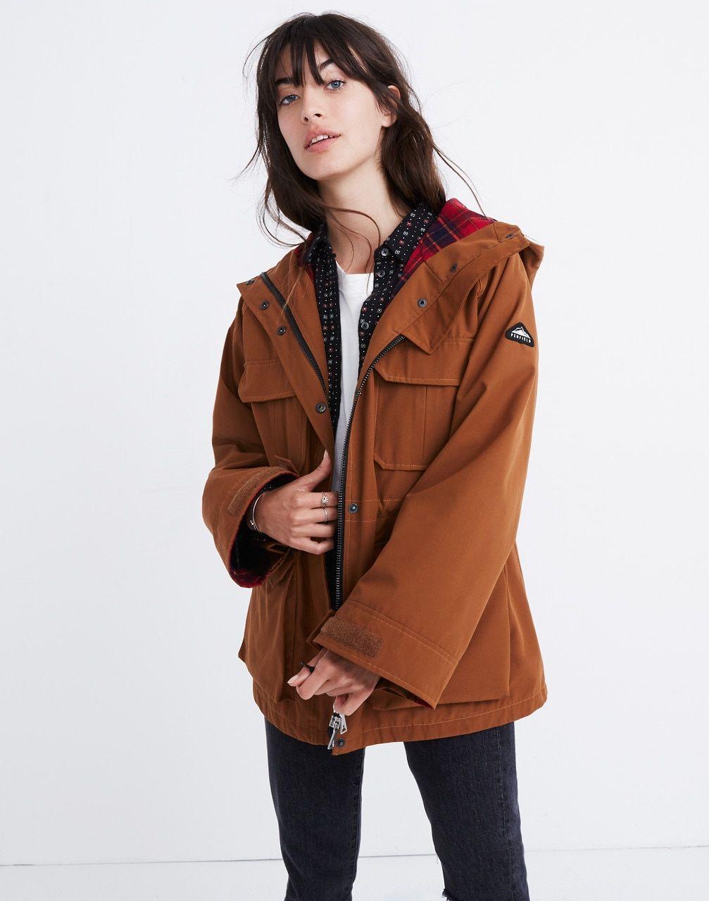 Penfield® 3 Anna's Image Brown Jacket In Madewell X Medbury BUcq757