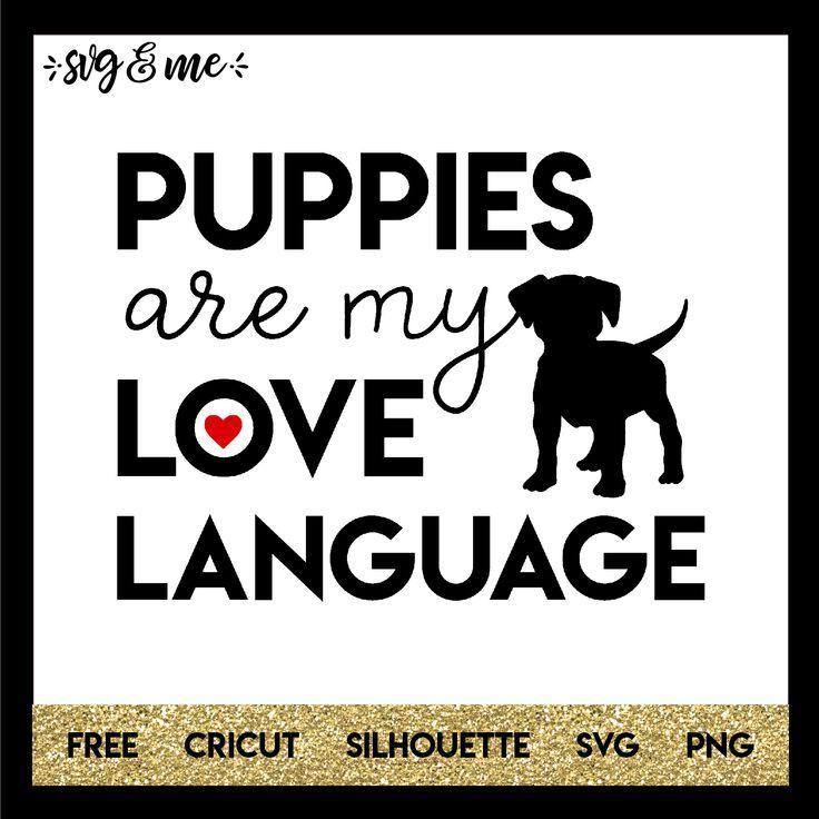Puppies Are My Love Language #animalrescue