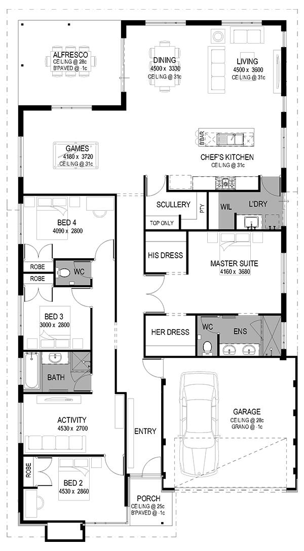 2d Floorplan Dream House Plans House Blueprints House Plans