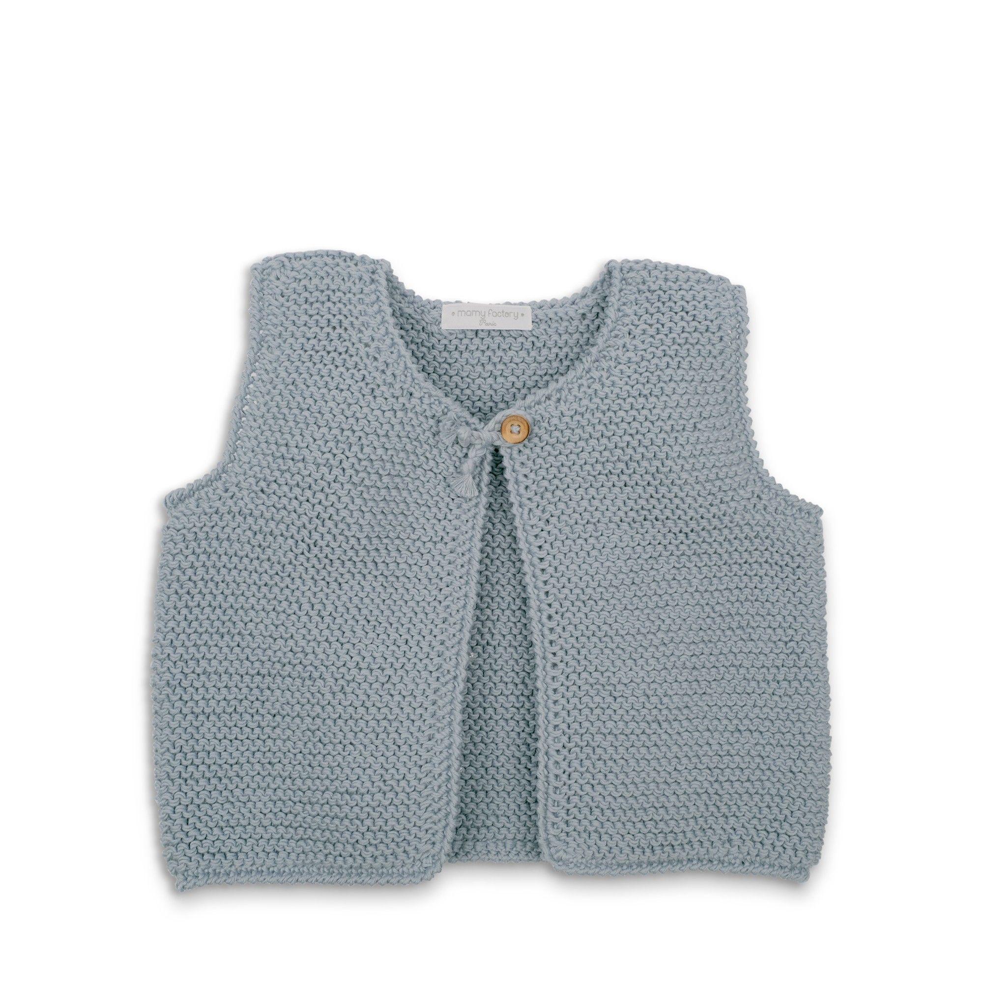 Tuto tricot gilet sans manche femme gratuit