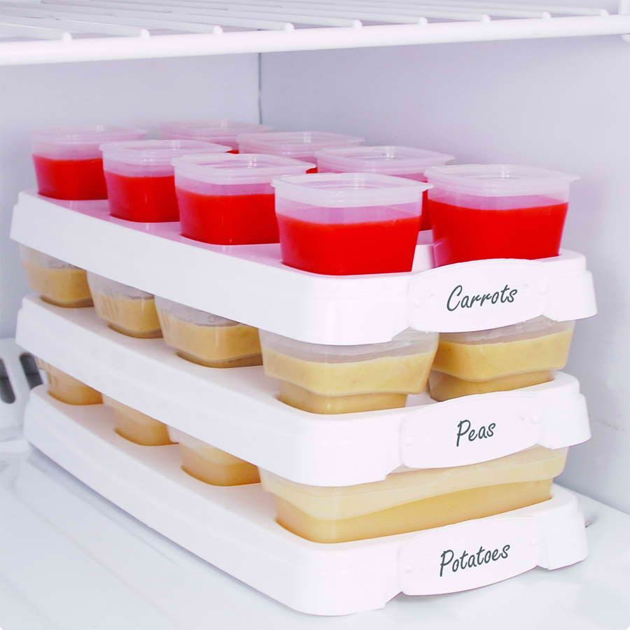 Homemade Baby Food Storage You Can Even Write On The Trays With Dry Erase