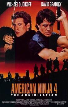 American Ninja 4 Starring Michael Dudikoff David Bradley March