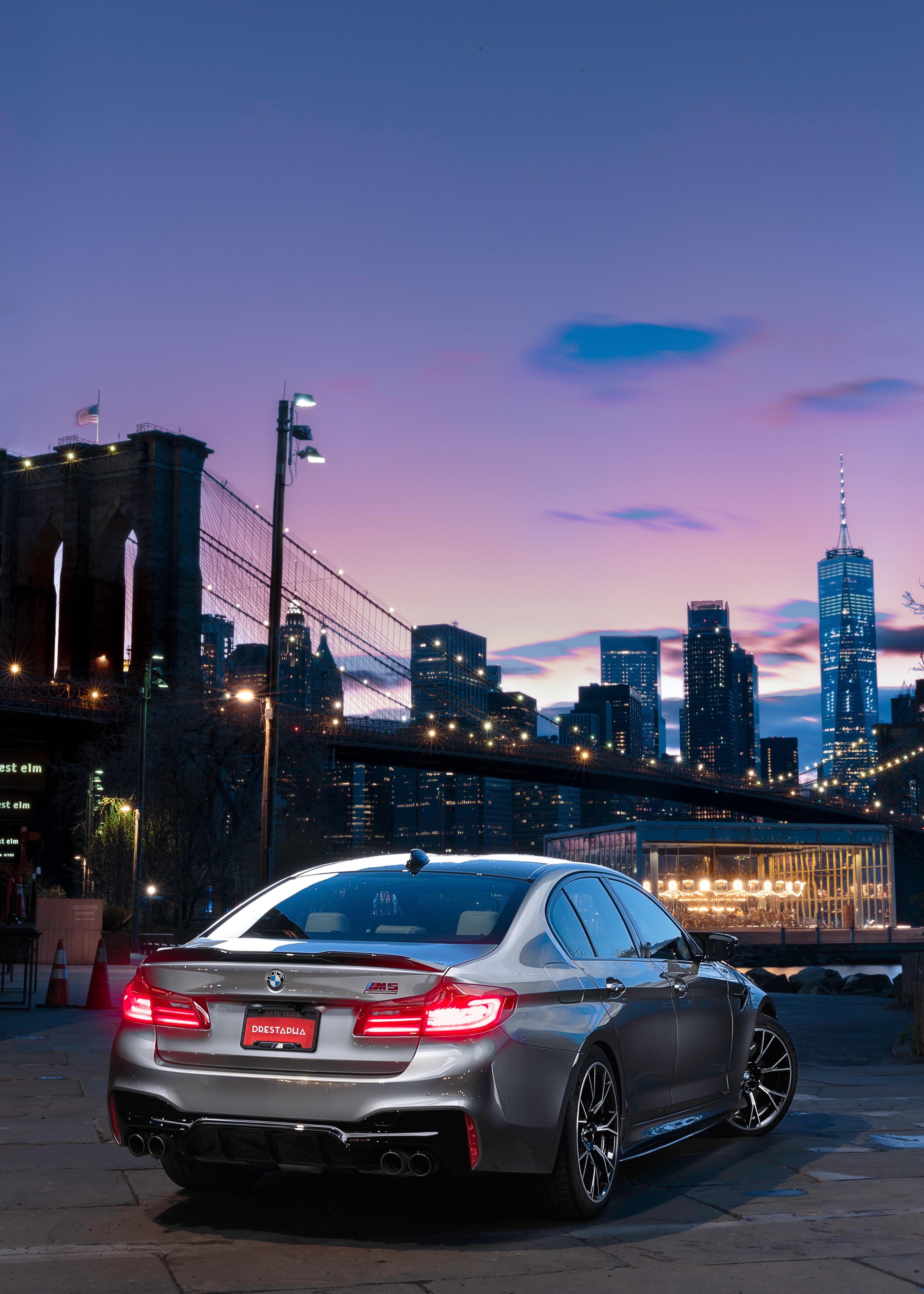 Brooklyn twilight bmw sports car bmw wagon bmw sport