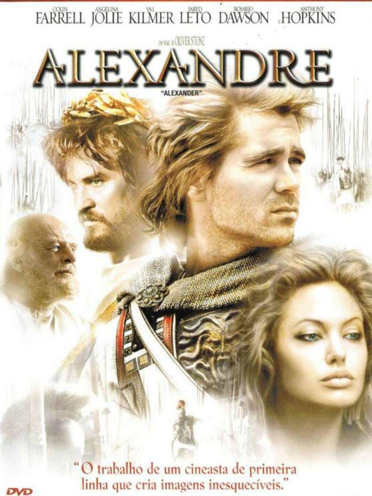 Um Filme De Oliver Stone Com Colin Farrell Angelina Jolie Val