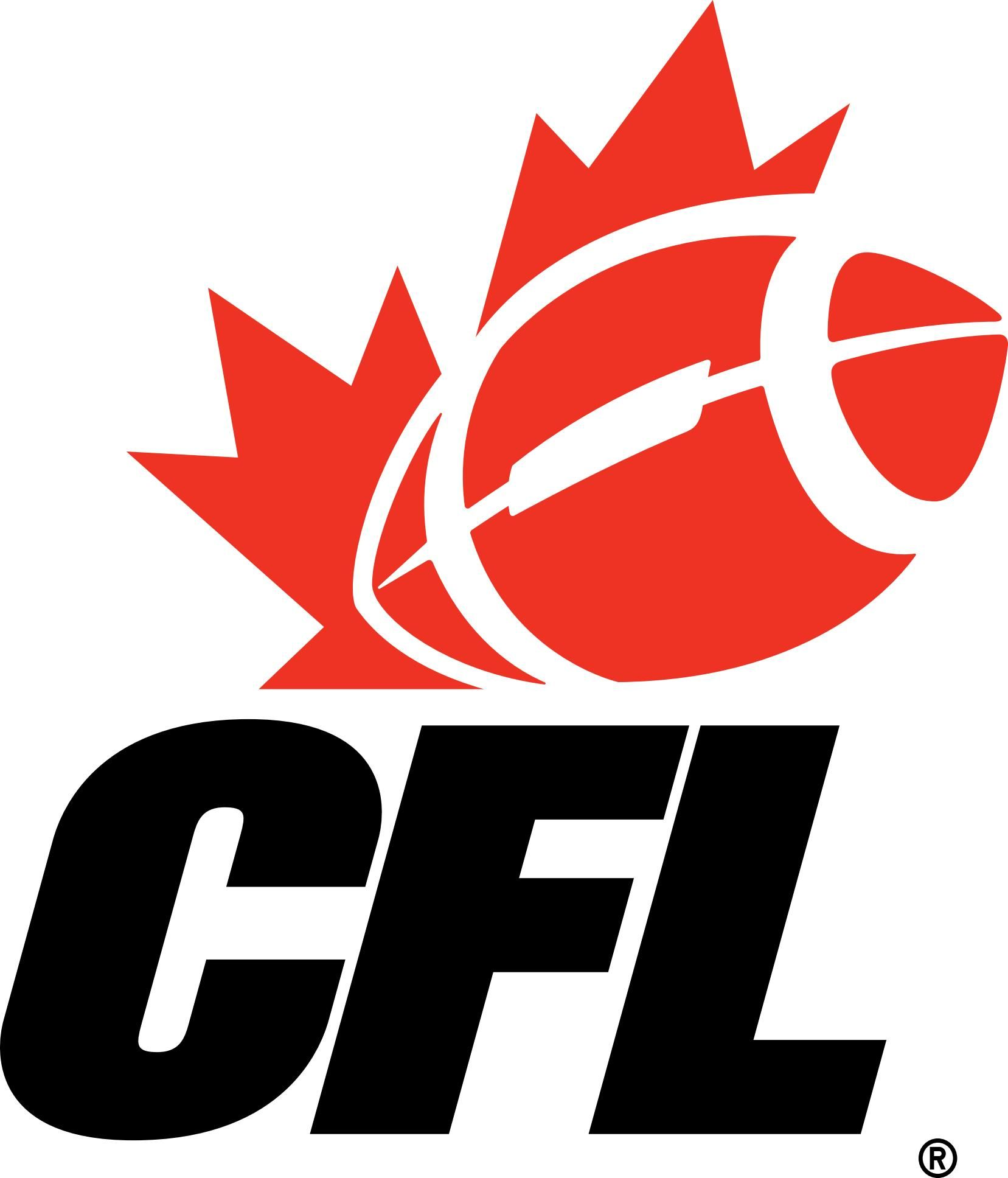 Cfl canadian football league logo eps file american