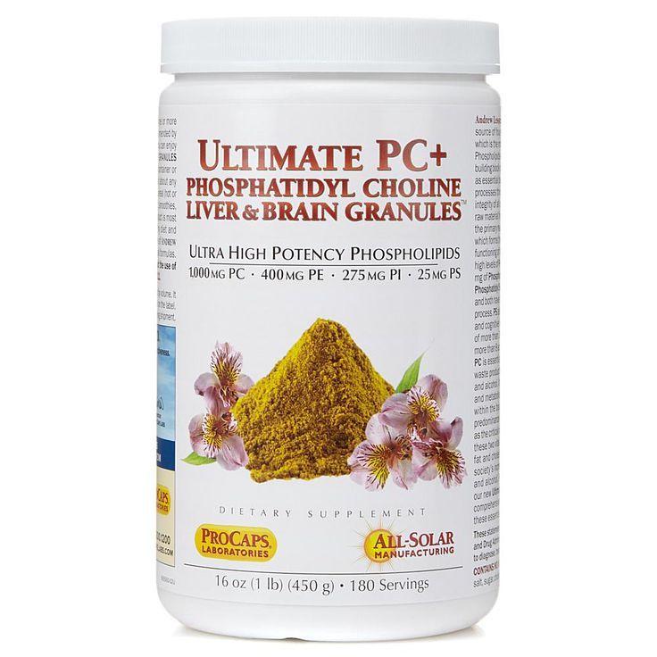 24+ Andrew Lessman Ultimate PC+ Phosphatidyl Choline Liver & Brain Granules   180 Servings