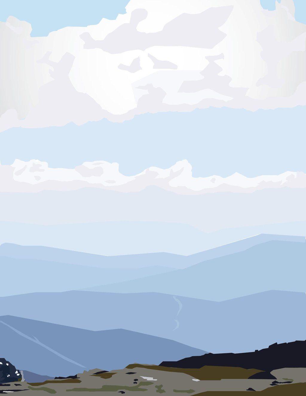Landscape Perspective Digital Art