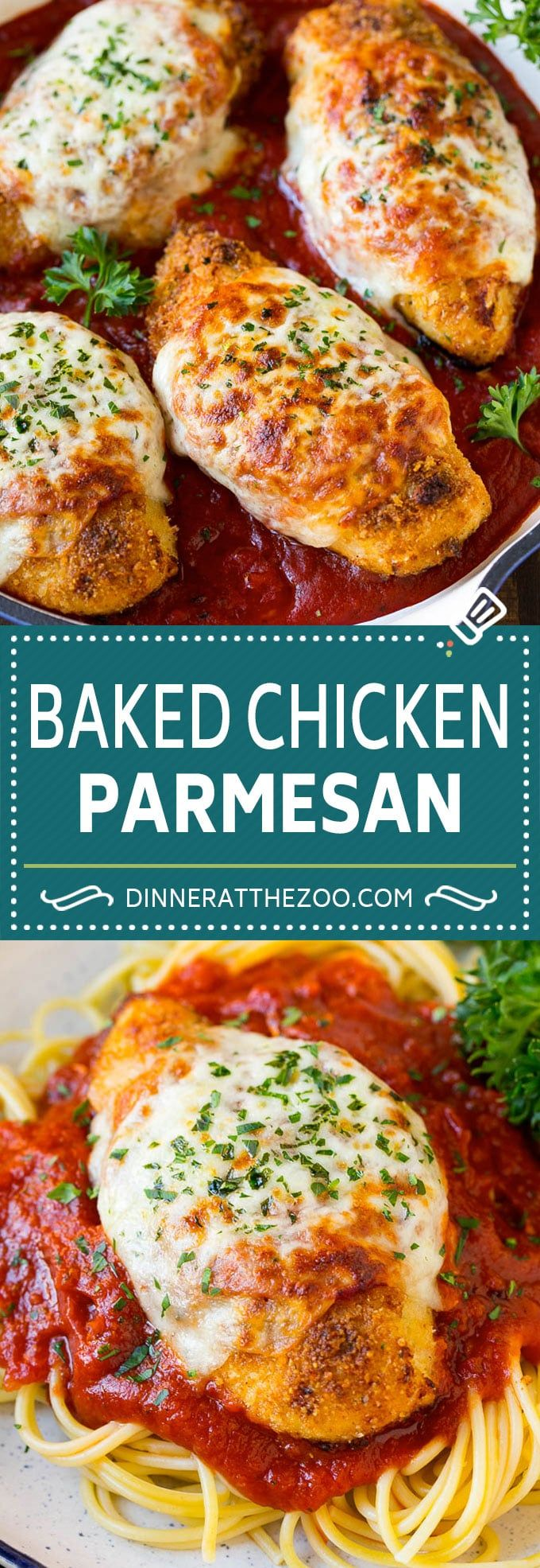 Photo of Baked Chicken Parmesan Recipe | Italian Chicken Parmesan | Baked Chicken #chicke…